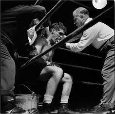 Stanley Kubrick     Boxer Walter Cartier, New York City      1948