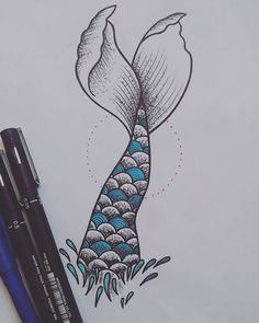 Bastel Ideen 19 ideas for tattoo mermaid tail draw Drawing Bastel Draw Ideas Ideen mermaid mermaid Drawing Tail Tattoo Tumblr Drawings, Cool Art Drawings, Pencil Art Drawings, Art Drawings Sketches, Easy Drawings, Drawing Ideas, Sketch Drawing, Pencil Drawing Tutorials, Doodle Drawings