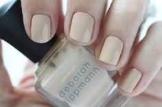 Deborah Lippmann Painted Desert Summer 2015 Swatch Shifting Sands Nude Cream Nail Polish