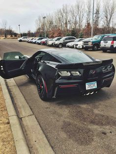 Brand New Z06 Blacked Out