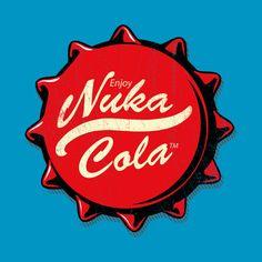 Awesome 'Enjoy+Nuka+Cola' design on TeePublic!