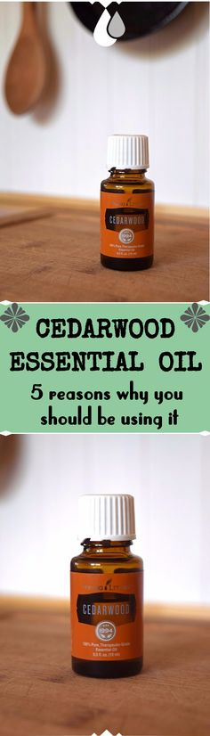 I love Cedarwood Essential oil, it smells sweet and woodsy. I always have two bottles in the house. One is on my nightstand, I love diffusing it alone or with…