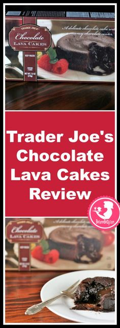 Trader Joes Chocolate Lava Cakes Review. Want to know if this is something worth buying from Trader Joe's? All pins link to BecomeBetty.com where you can find reviews, pictures, thoughts, calorie counts, nutritional information, how to prepare, allergy information, and how to prepare each product.