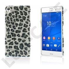 Nature (Hvit Leopard) Sony Xperia Z3 Lær Coated Etui