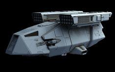ArtStation - DX-9 Stormtrooper Transport, Ansel Hsiao