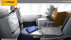 lufthansa business class 747 way to start my vacation