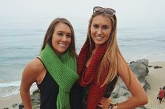 The Bum's Mum: easy knitted scarf pattern -