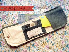 Wallet--no tutorial or pattern, just good inspiration