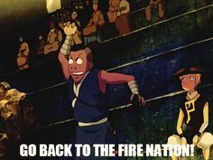go back to the fire nation | Tumblr