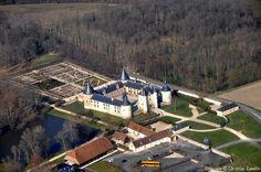 ✈️ Photo aérienne de : Château de Chamerolles - Loiret (45)
