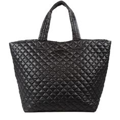 MZ Wallace Large Metro Tote is the ultimate large everywhere bag. Crafted with incredibly lightweight, durable, and soft signature Quilted Oxford Nylon. It's unique construction makes it foldable, rollable, packable, even crushable, and it will never lose its shape.