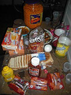 White Trash Party Food ideas