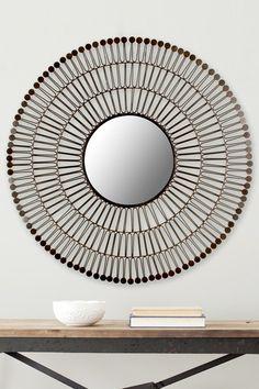 New Victoria Coffee Bronze Mirror