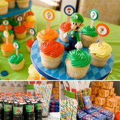 Fiesta temática Super Mario Bros.