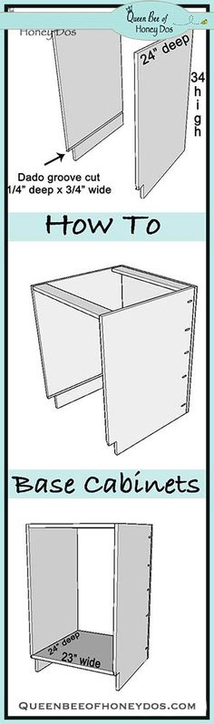 how to build kitchen cabinet boxes