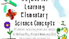 Rhymes for Learning Elementary Science Concepts - Music in Our Homeschool