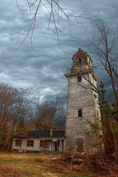Abandoned lighthouse...