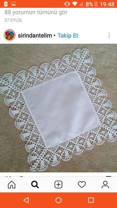 Crochet Border Patterns, Crochet Boarders, Lace Knitting Patterns, Crochet Lace Edging, Crochet Diagram, Crochet Chart, Filet Crochet, Diy Crochet, Crochet Designs