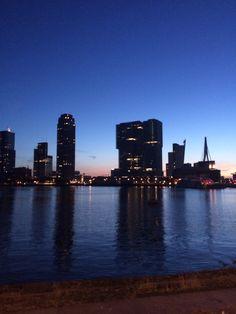 Skyline of #Rotterdam