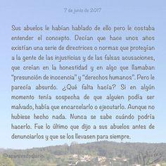 7 de junio de 2017 : #MicrocuentoZ #: #derechoshumanos #inocencia #libertad #denunciar #microcuento #microcuentos #microcuentos2017 #microrrelato  #apuntesdediario #cuento #breve #literatura #relato #texto #text #artistsoninstagram  #junio #june #201706 #mediodia #noon #cielo #blue #azul