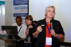 Jenny Reid at Secures West Africa 2015