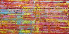 gemälde abstrakt 200 x 100 cm