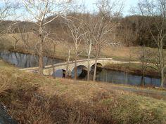 Burnside Bridge (lower bridge) also known as Rohrbach's Bridge