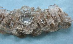 bridal garter (in case you are wondering!)