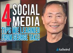 4 Social Media Tips We Learned from George Takei #SEOPluz