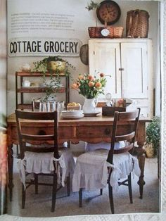 Cottage Grocer dining room