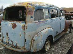 Chevrolet vintage van