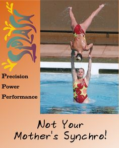 Not Your Mother's Synchronized Swimming!