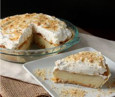 "Amish Peanut Butter Pie - The blogger says ""I cannot stress to you how amazing this pie tastes."""