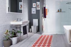 10 Amazing Modern Scandinavian Bathroom Design Ideas in 2019 - Paradise Home - Bathroom Ideas - Bathroom Decor Rustic Bathroom Vanities, Boho Bathroom, Rustic Bathrooms, Diy Bathroom Decor, Bathroom Styling, Bathroom Ideas, Bath Ideas, Bathroom Designs, Brick Bathroom