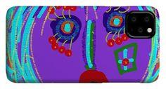 Lippy Girl Phone Case by Susan Fielder Art - IPhone 11 Pro Max Case