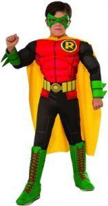 Fill your good times bag with DC Comics Robin Deluxe Child Costume. Create an array of fabulous moments with Robin Costumes for Halloween at ToyHo. Batman Robin, Batman And Robin Costumes, Robin Superhero, Dc Comic Costumes, Superhero Halloween Costumes, Robin Dc, Boy Costumes, Halloween Kostüm, Costume Ideas