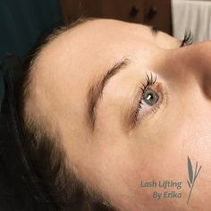 We're in love with Erika's work . Lash Lifting is semi-permanent lash curling that works with your natural lashes! This new safe and effective treatment is now offered at our Humbertown location. Semi Permanent Lashes, Lash Tint, Wellness Spa, Natural Lashes, Lash Extensions, Curling, Your Skin, Eyelashes, Toronto