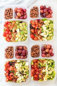 Easy Lunchbox Cobb Salads via @familyfresh