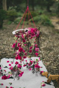 flower dream catcher