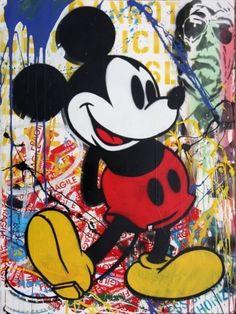 Mr. Brainwash - Mickey Mouse (Unique)