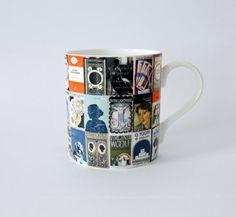 Virginia Woolf Book Covers Mug by BloomsburyBlackbird on Etsy