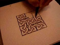 I've tried to draw Celtic knots before and fallen short...this might be my key to succeeding!