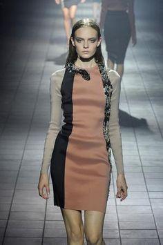 Emma Stone wearing Lanvin Spring 2012 Snake Embellishments Dress.