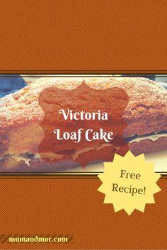 Victoria Loaf Cake Recipe