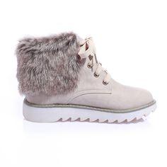 newest 48e54 33756 Women Winter Artificial Suede Boots Fur Snow Shoes – Mollyca Botas Para La  Nieve, Botines