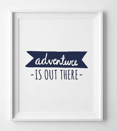 Kids room decor, navy nursery art Adventure is out there baby boy nursery decor available in different sizes and format.  You will receive 4