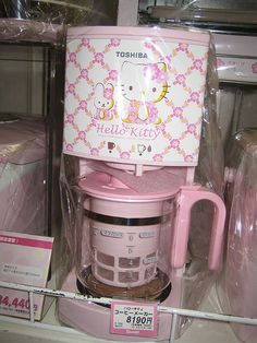 Hello Kitty Coffee Maker. Every morning you would have to be happy..