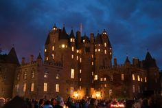 'Glamis By Night' -     Marc Roberts |  Glamis during the Scottish Proms