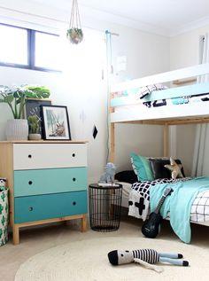 IKEA Mydal Bunk Bed Hack - kids bedroom ideas for boys