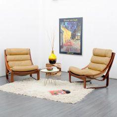 1970s lounge chair Tessa T4, design: Fred Lowen